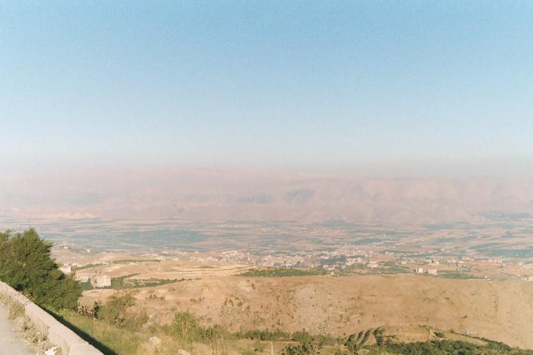 Vue d'ensemble de la vallée