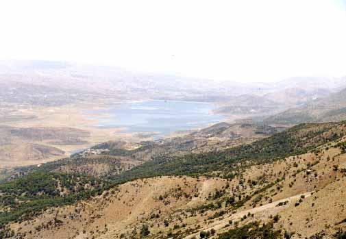 Le lac de Qaraaoun au Bekaa