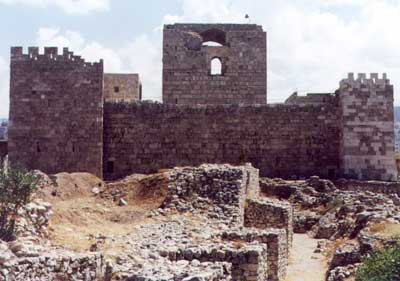 La citadelle de Byblos