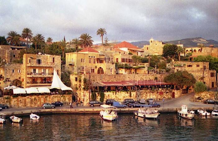 Byblos côté de la mer