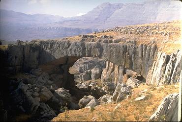 Pont naturel de Faqra