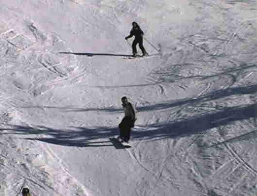 Skier à Faraya