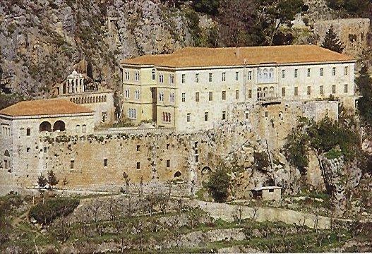 Couvent St Antoine de Qozhaya