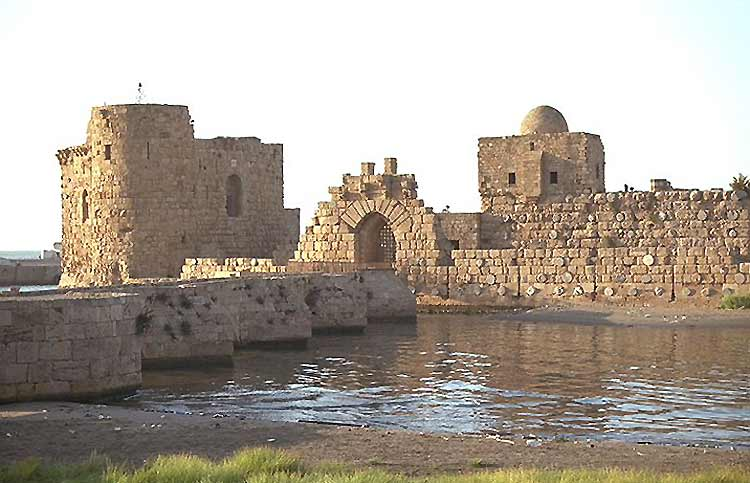Citadelle construite par les Croisades au 13ème siècle