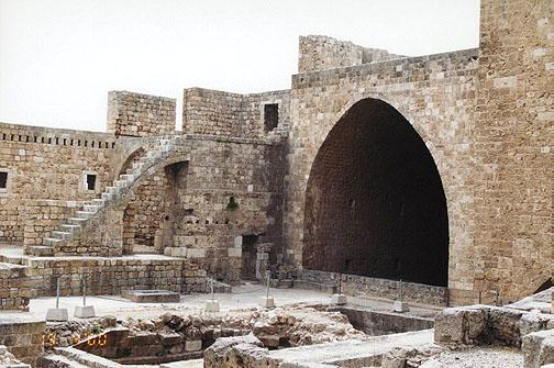 Intérieur de la citadelle