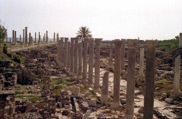 Les colonnades Romains