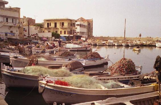 Le vieux port de Tyr